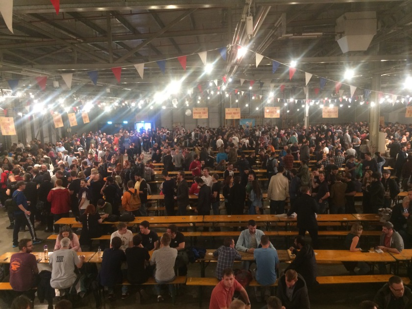 Crowds at Beavertown Extravaganza 2017